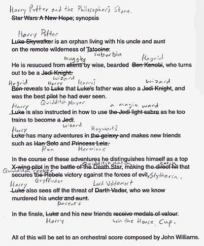 Harry Potter and Star Wars Script
