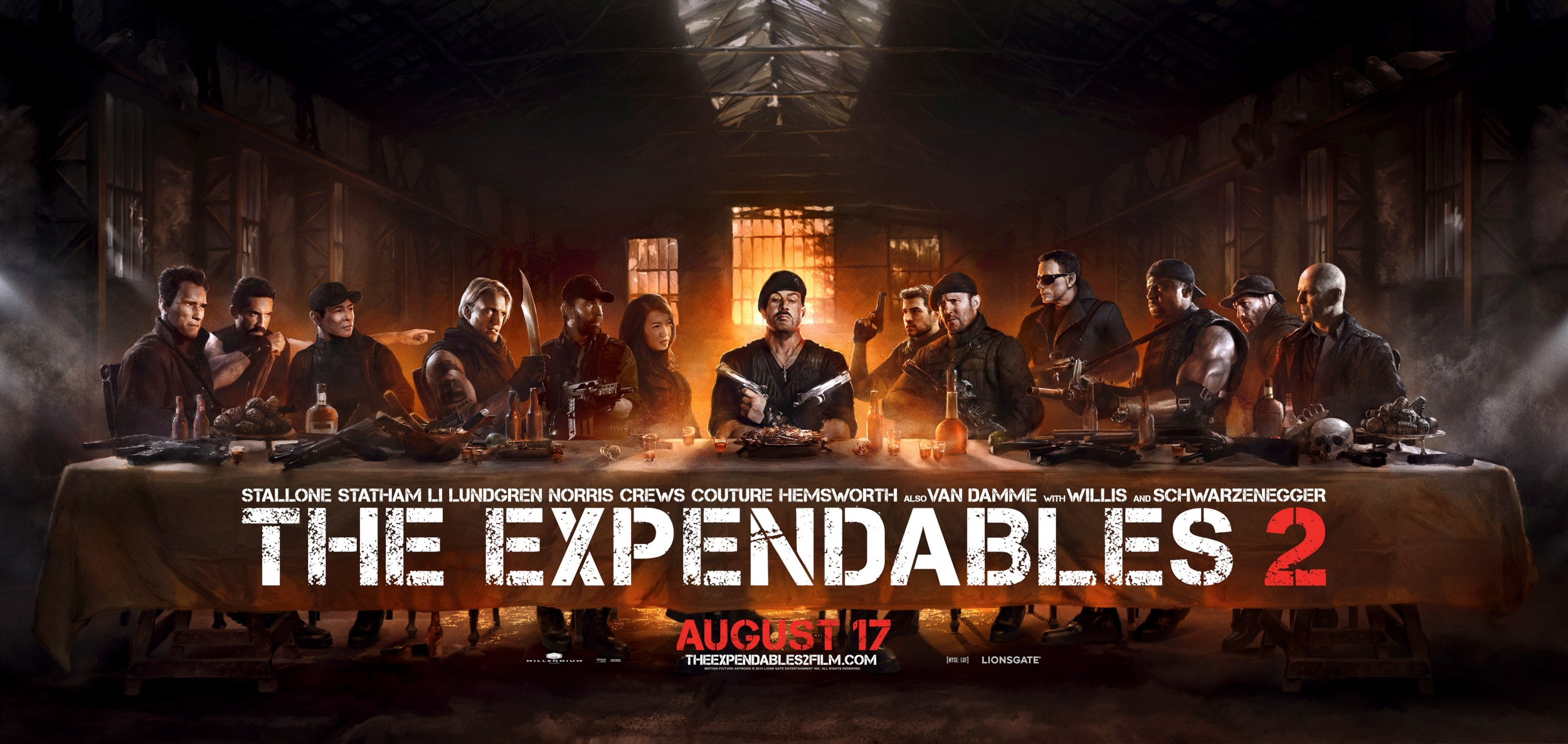 The-Expendables-2-Cène-Last-Supper