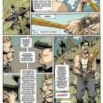 comics inglourious basterds graphic novel page 4