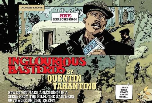 inglourious basterds graphic novel