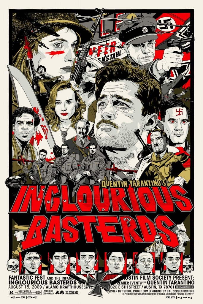 inglourious basterds poster red