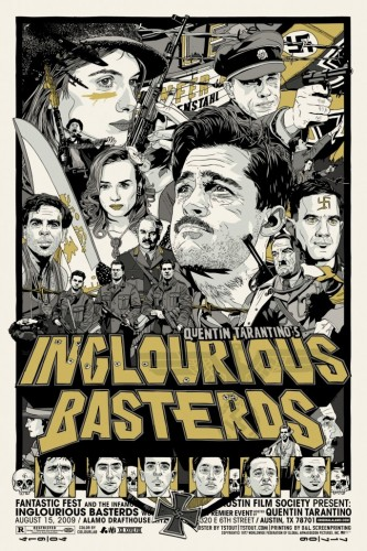 inglourious basterds poster yellow