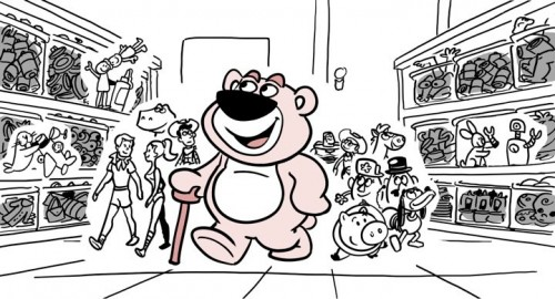 Lotso Animation Progression 1