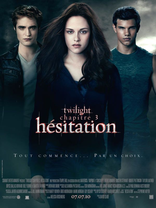 affiche twilight 3 hésitation eclipse