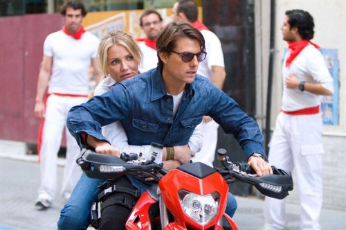 night and day tom cruise cameron diaz moto