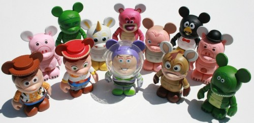 toy story 3 vinylmation collection figures