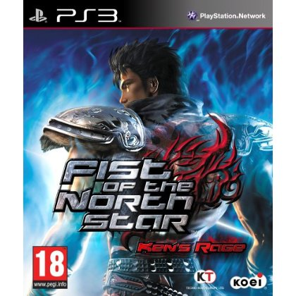 cover fist of the north star ken's rage