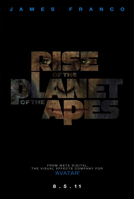 affiche rise of the planet of the apes poster