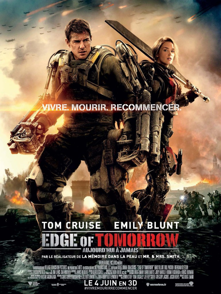 Affiche du film Edge of Tomorrow Poster