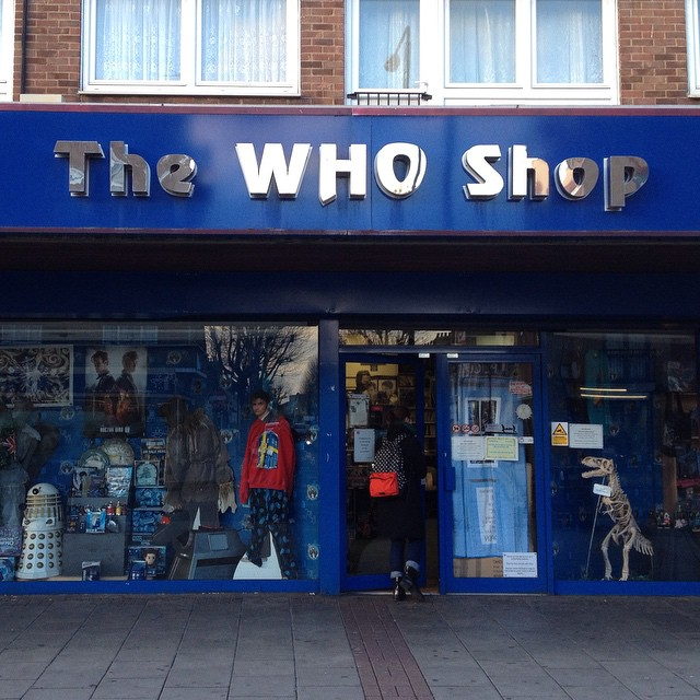 Petit tour au mythique The Who Shop ! #TheWhoShop